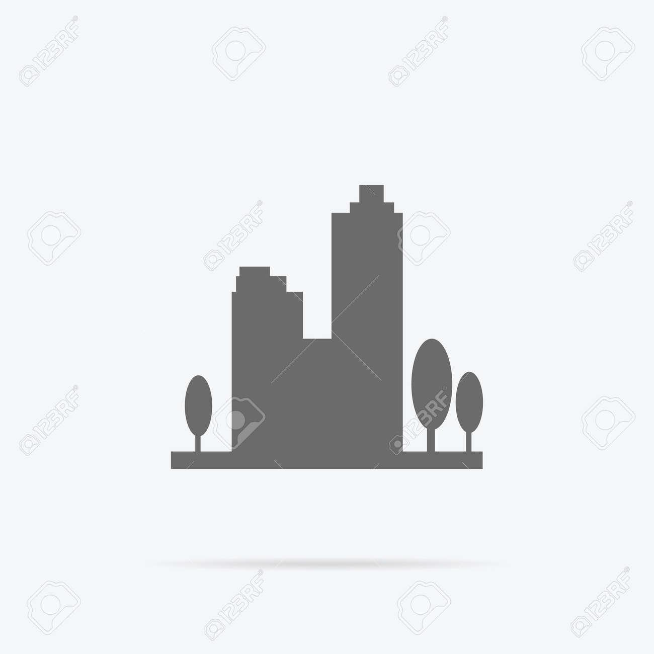 Tall buildings Royalty Free Vector Image - VectorStock