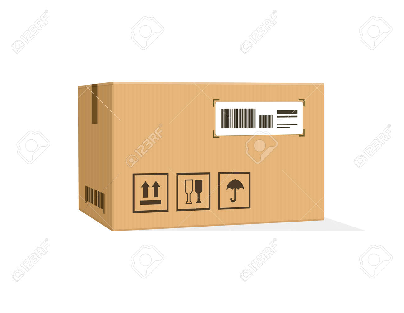 packing product icon design style packing boxes box delivery