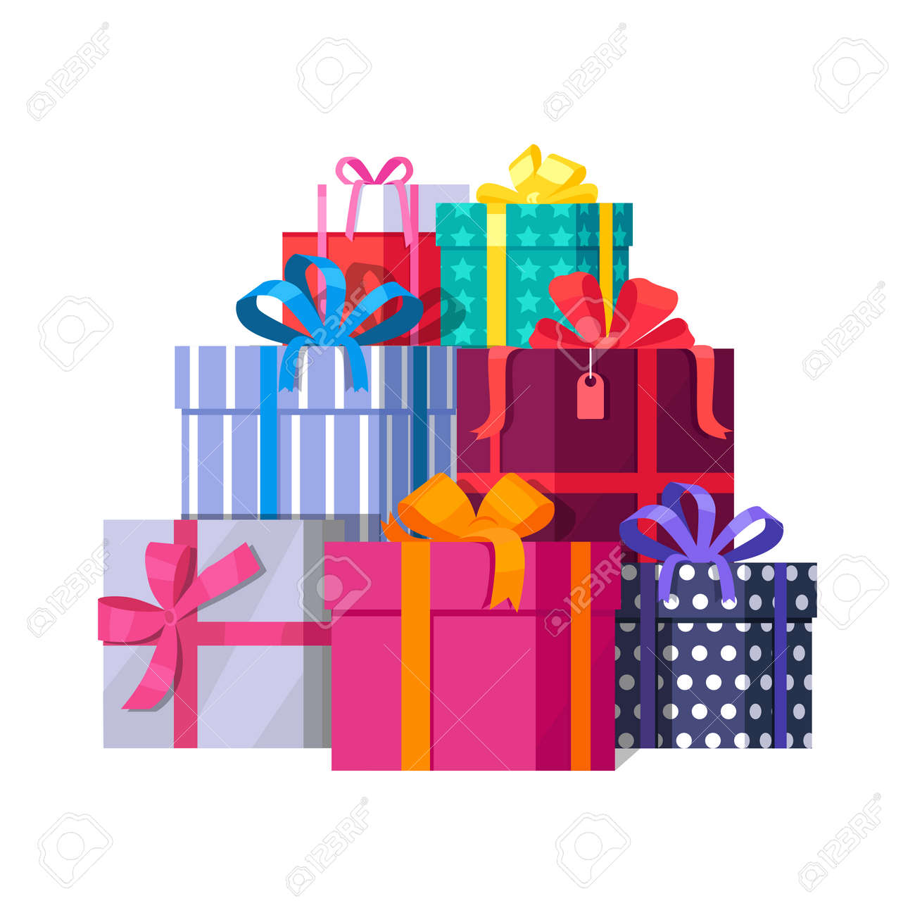 Image result for wrapped gifts graphics
