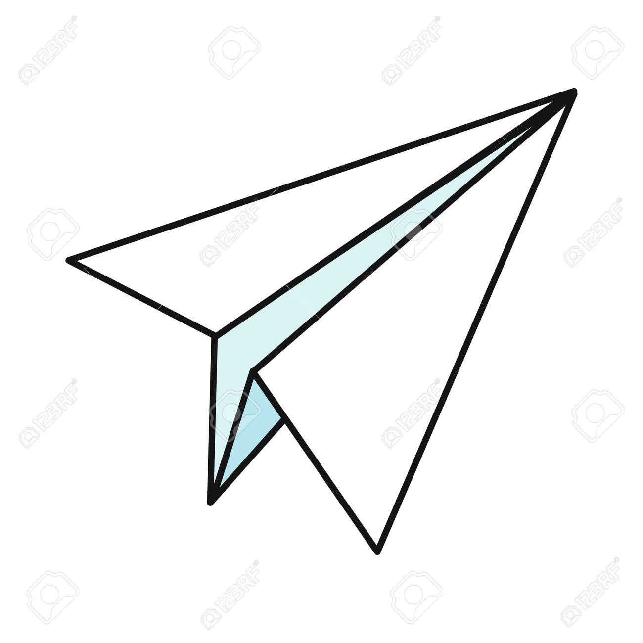 paper plane icon paper airplane icon paper aircraft business rh 123rf com