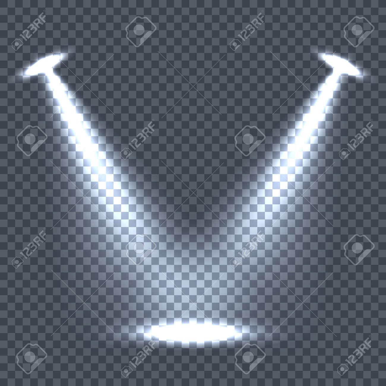 foto de archivo iluminacin con efectos de luz brillante en el fondo de la tela escocesa iluminacin con focos escena de la etapa luces de