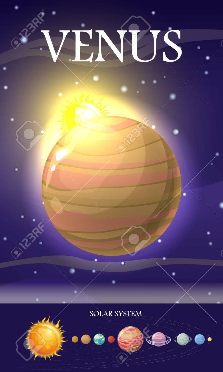 venus planet second planet from sun has longest rotation period
