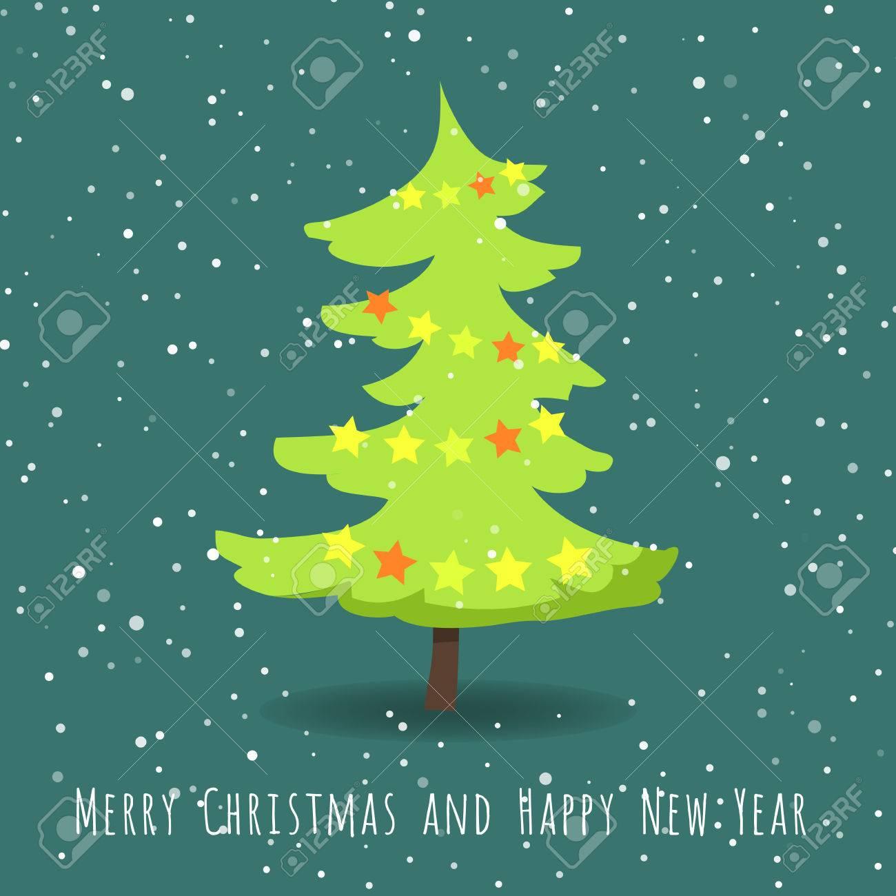 Photos De Joyeux Noel Et Bonne Annee.Joyeux Noel Et Bonne Annee Sapin