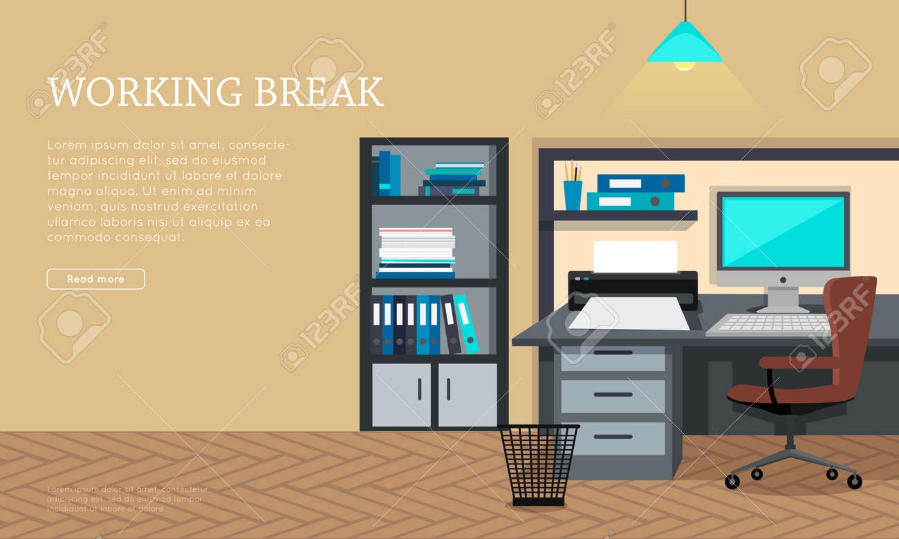 Amazing Office Work Room Clipart Picture Collection - Modern Style ...
