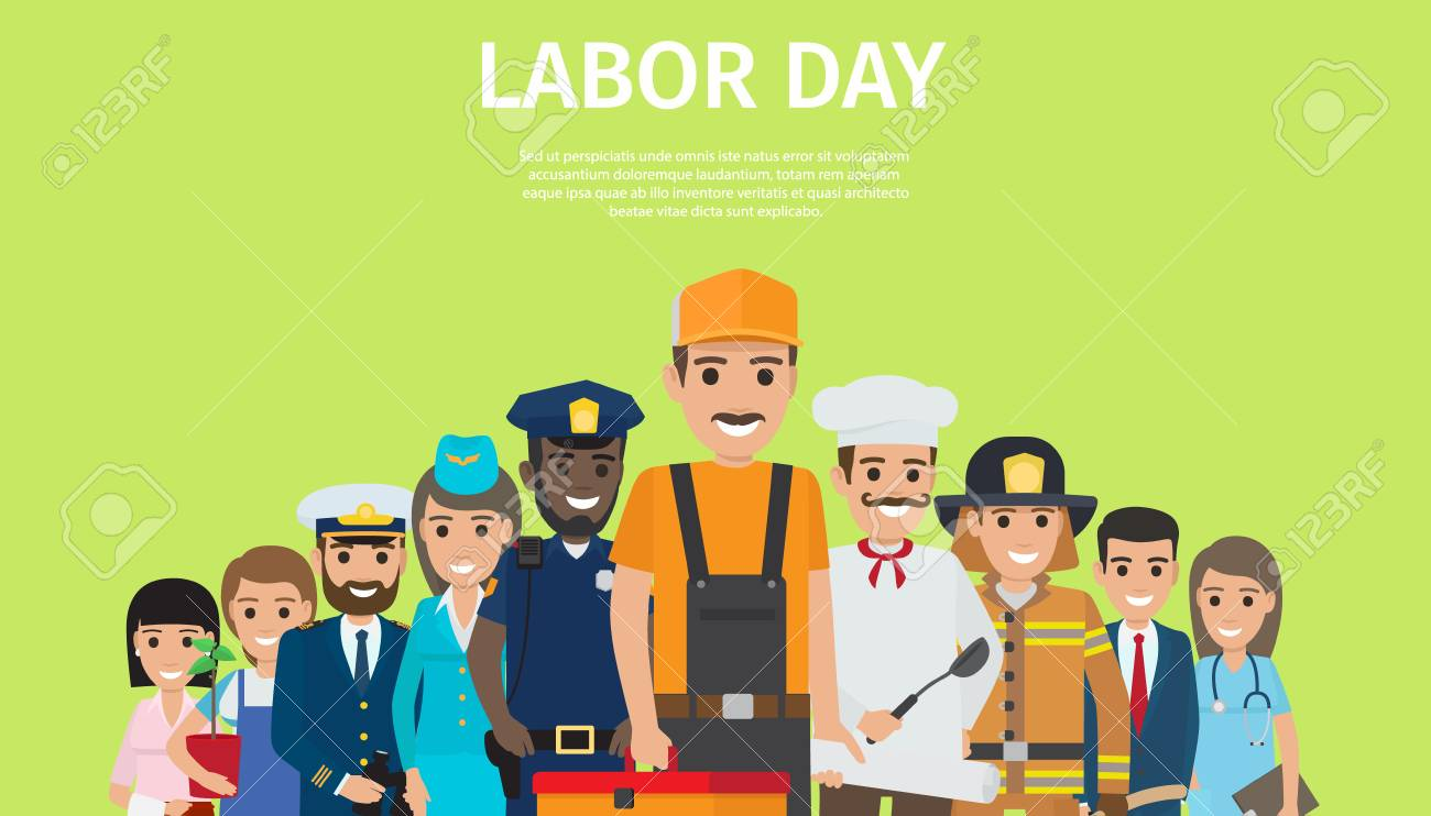 International Labor Day, Bright Promotion Poster - 90603298