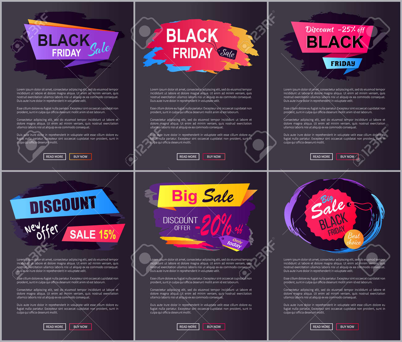 Black Friday Big Sale New Offer Discount 25 Off Web Pages Royalty Free Cliparts Vectors And Stock Illustration Image 91691664