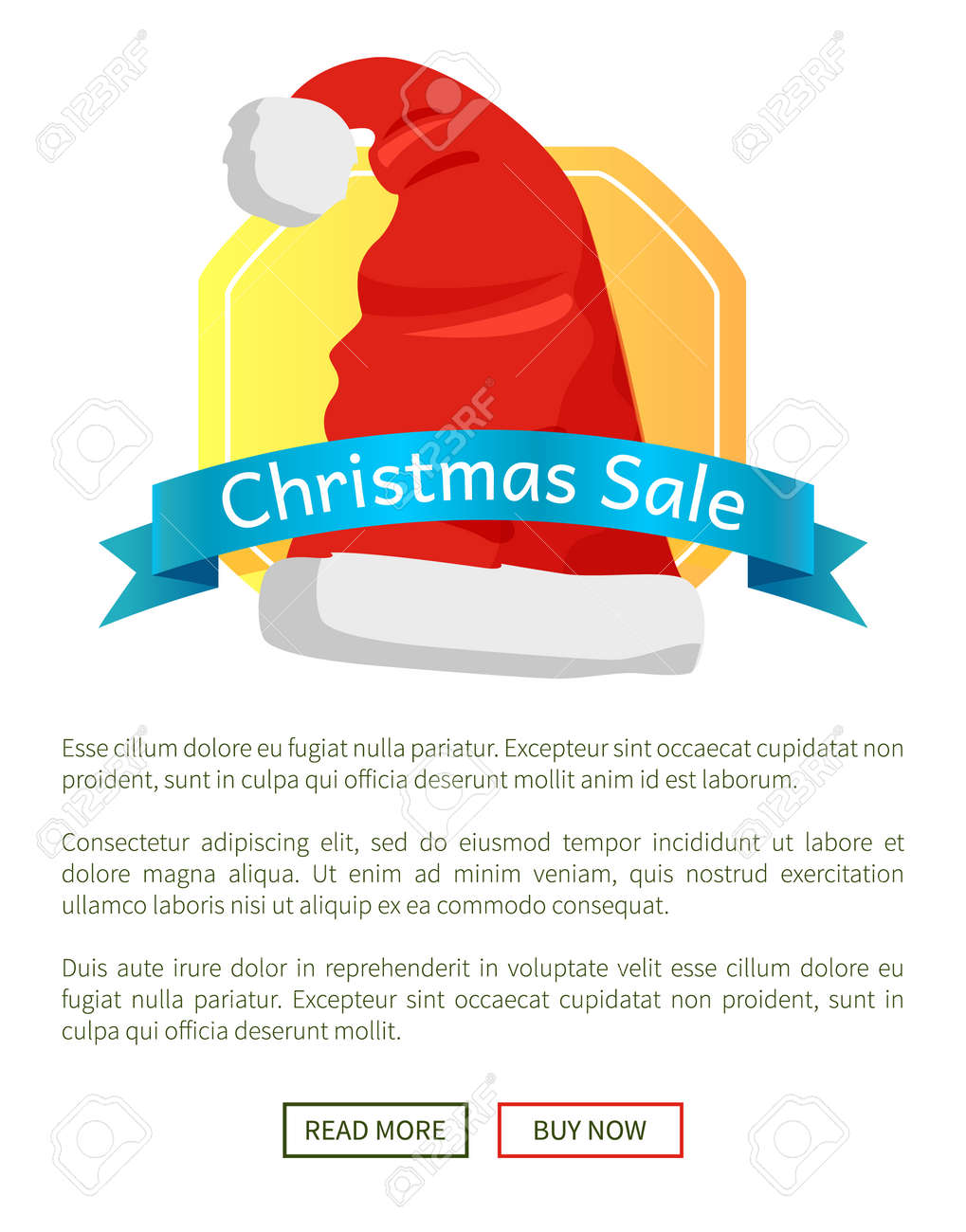 2eb544bedc4c8 Christmas sale off promo label Santa Claus hat advertisement badge with red  winter headwear icon and
