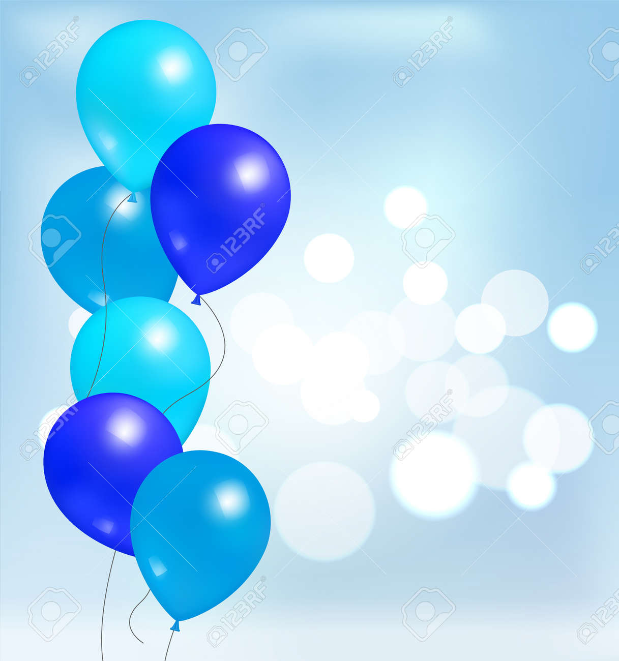 Glossy Shiny Balloons For Party Decorations Birthdays And Anniversaries Blue Rubber Balloon Inflatable Helium