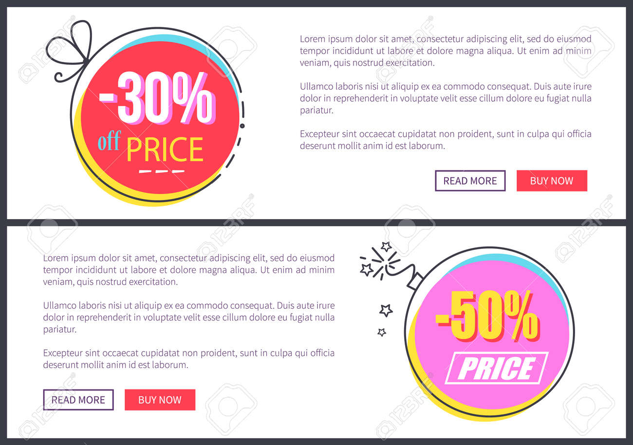 From 30 To 50 Discount At Internet Shop Web Pages Templates With ...