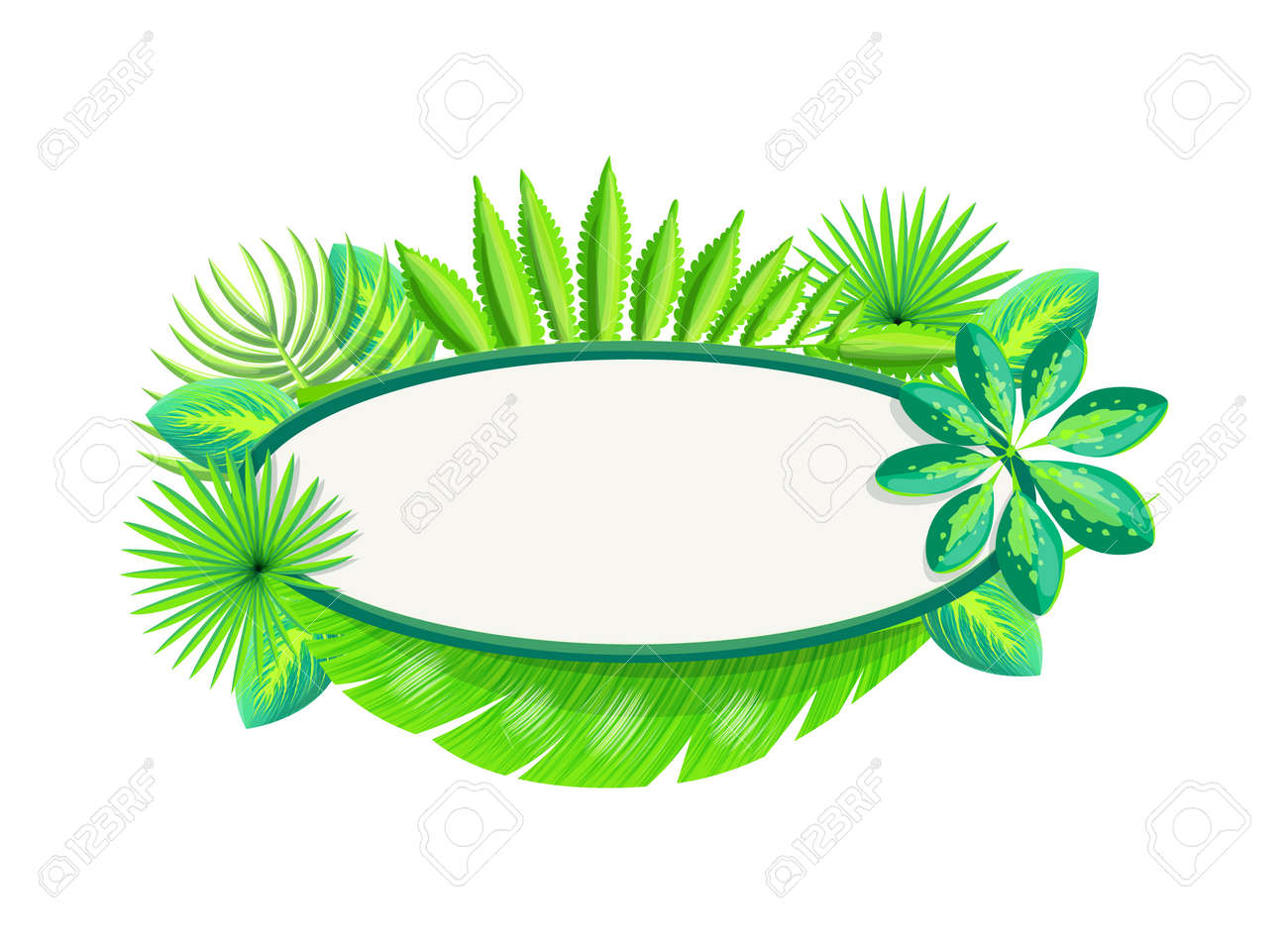 Empty Banner Frame Of Tropical Palm Leaves Poster With Blank Royalty Free Cliparts Vectors And Stock Illustration Image 111592833 Please leave me your absolute favorite photos of @bts_twt. empty banner frame of tropical palm leaves poster with blank