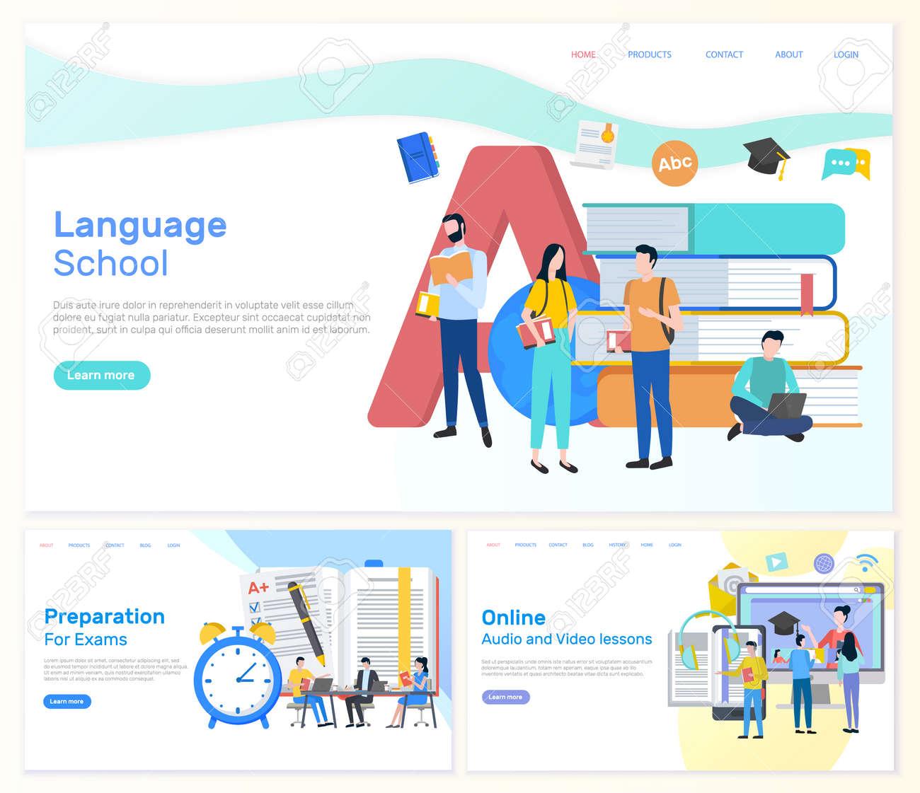Language School, Preparation for Exams Students - 113673107