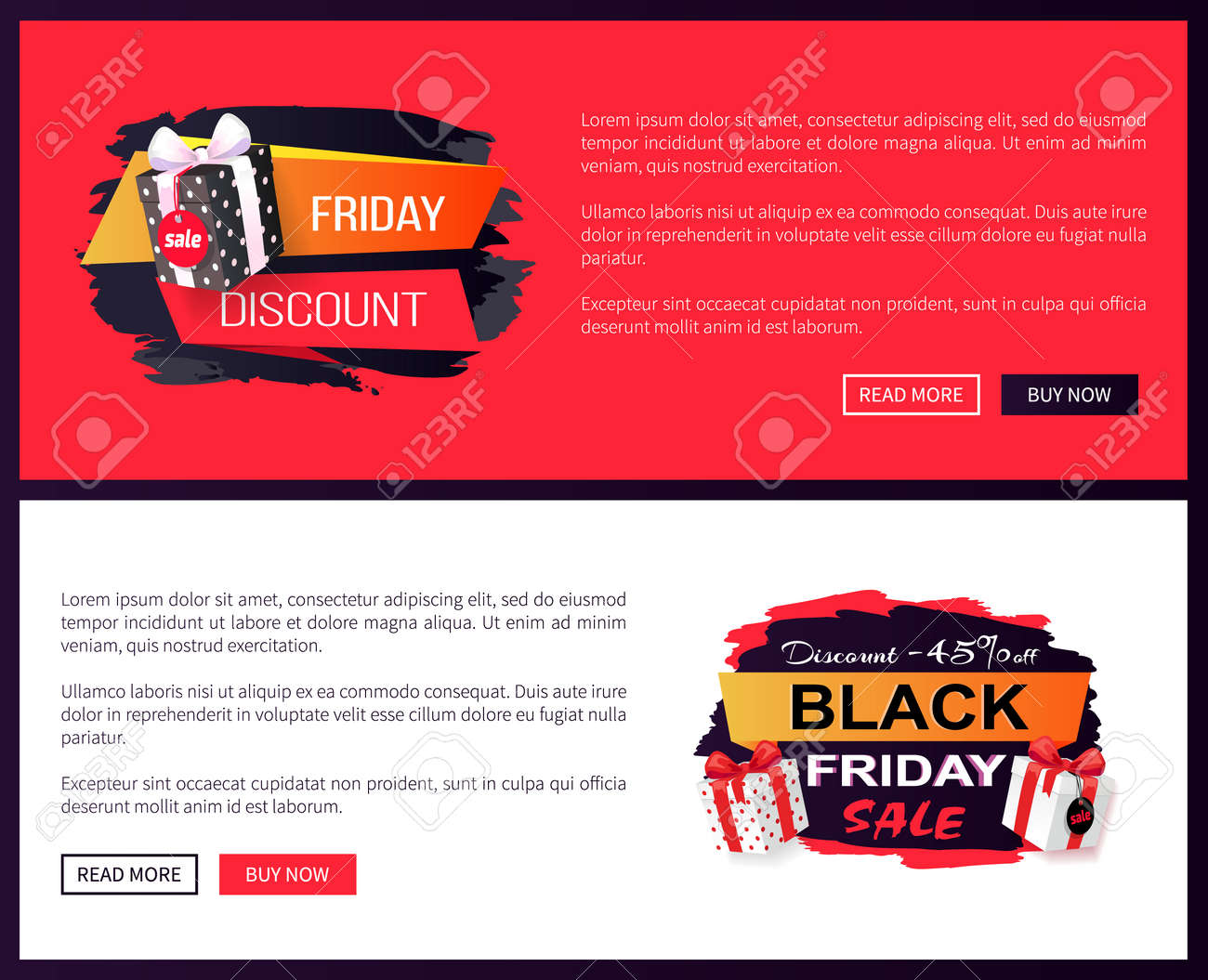 Black Friday Sale Off Promo Stickers Advertising Coupons With Royalty Free Cliparts Vectors And Stock Illustration Image 126168585
