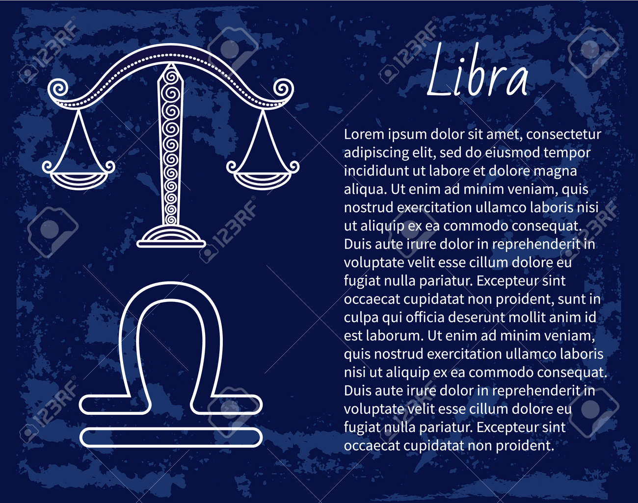 Libra Zodiac Sign Of Horoscope Balance Scales Symbol Of Astrological Royalty Free Cliparts Vectors And Stock Illustration Image 142422640
