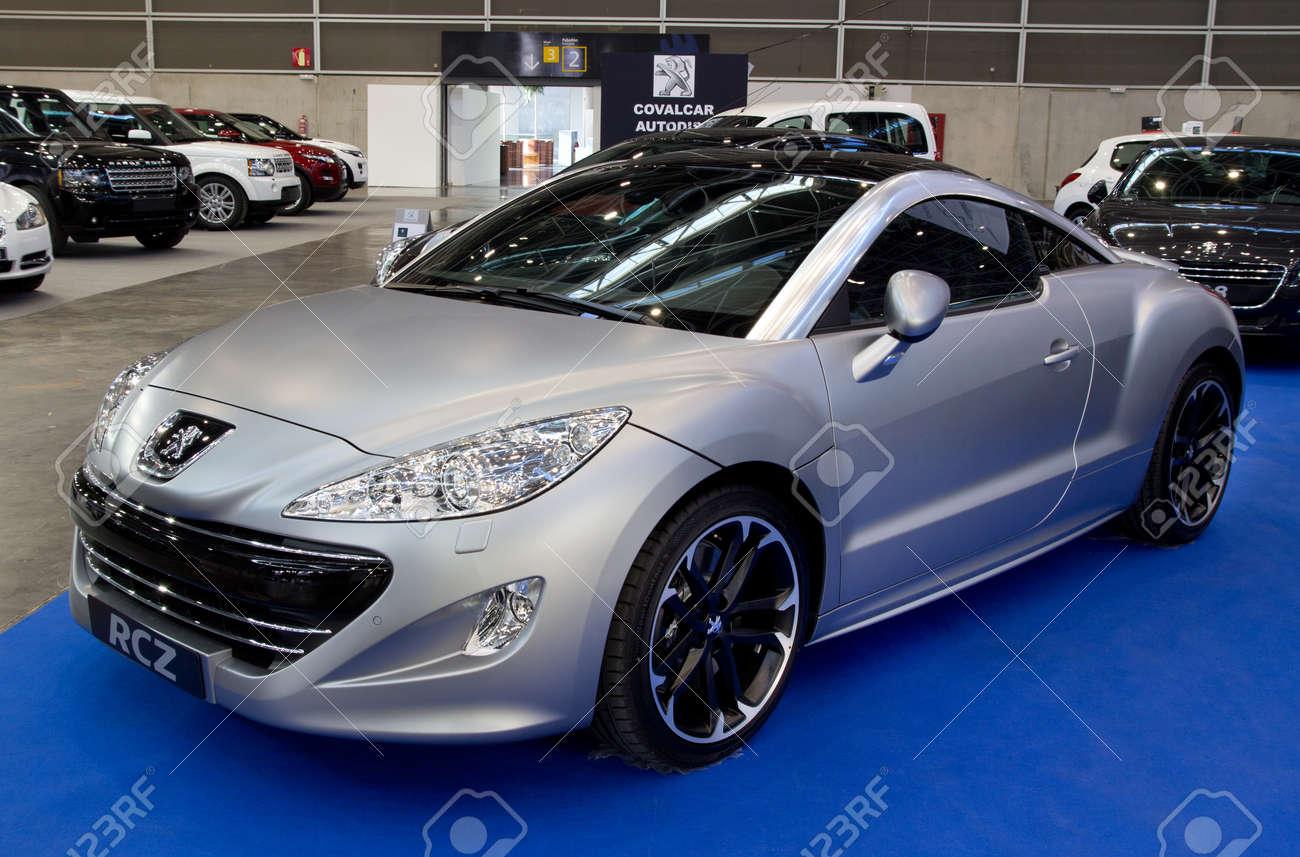 מגניב ביותר VALENCIA, SPAIN - DECEMBER 5: A 2011 Peugeot RCZ Sports Coupe JB-81
