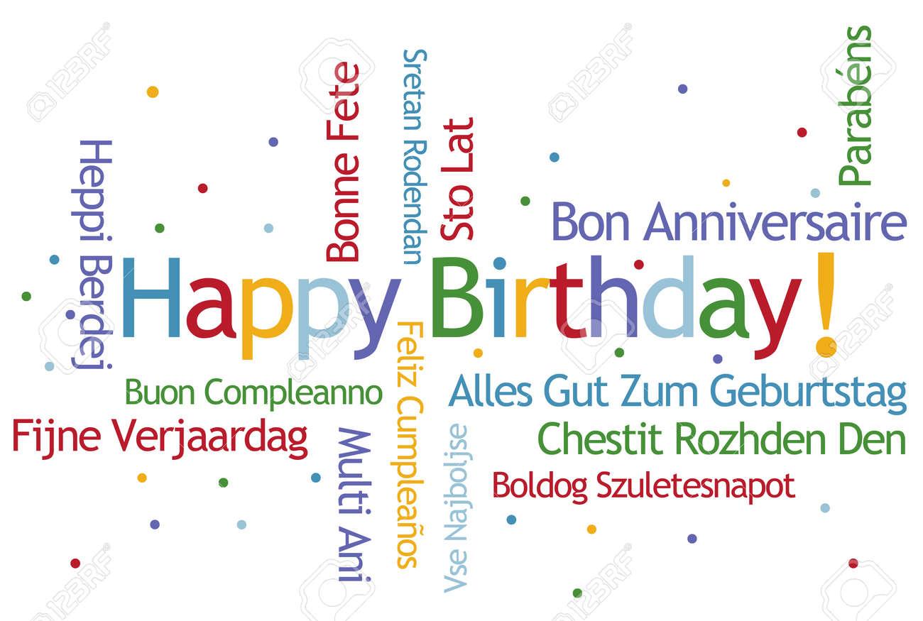 Charmant Alles Gute Zum Geburtstag Vorlage Frei Fotos - Entry Level ...