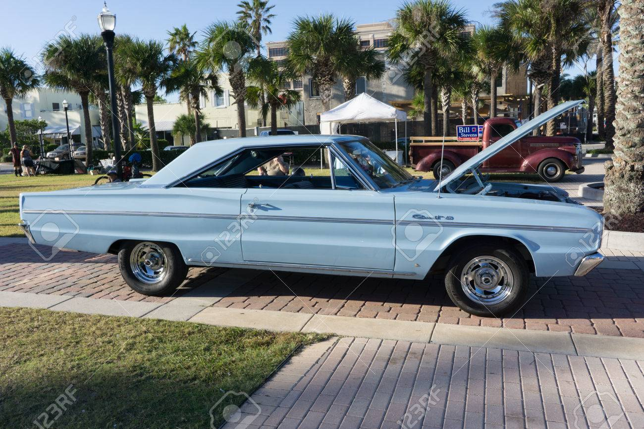 Jacksonville Beach Florida October 18 2016 A 1966 Dodge Stock Photo Picture And Royalty Free Image Image 64422871