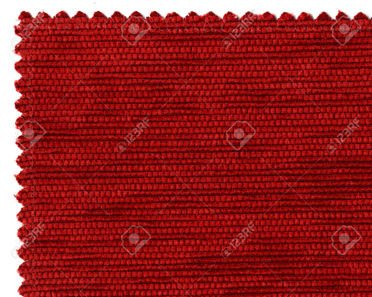 Closer Image Of Textile Sample On White Background Stock Photo ...