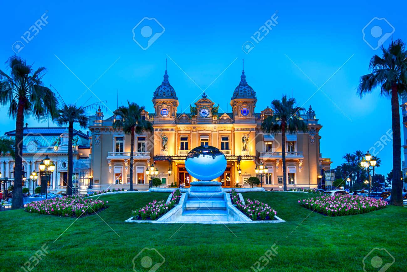 Grand Casino in Monte Carlo, Monaco. - 30196367