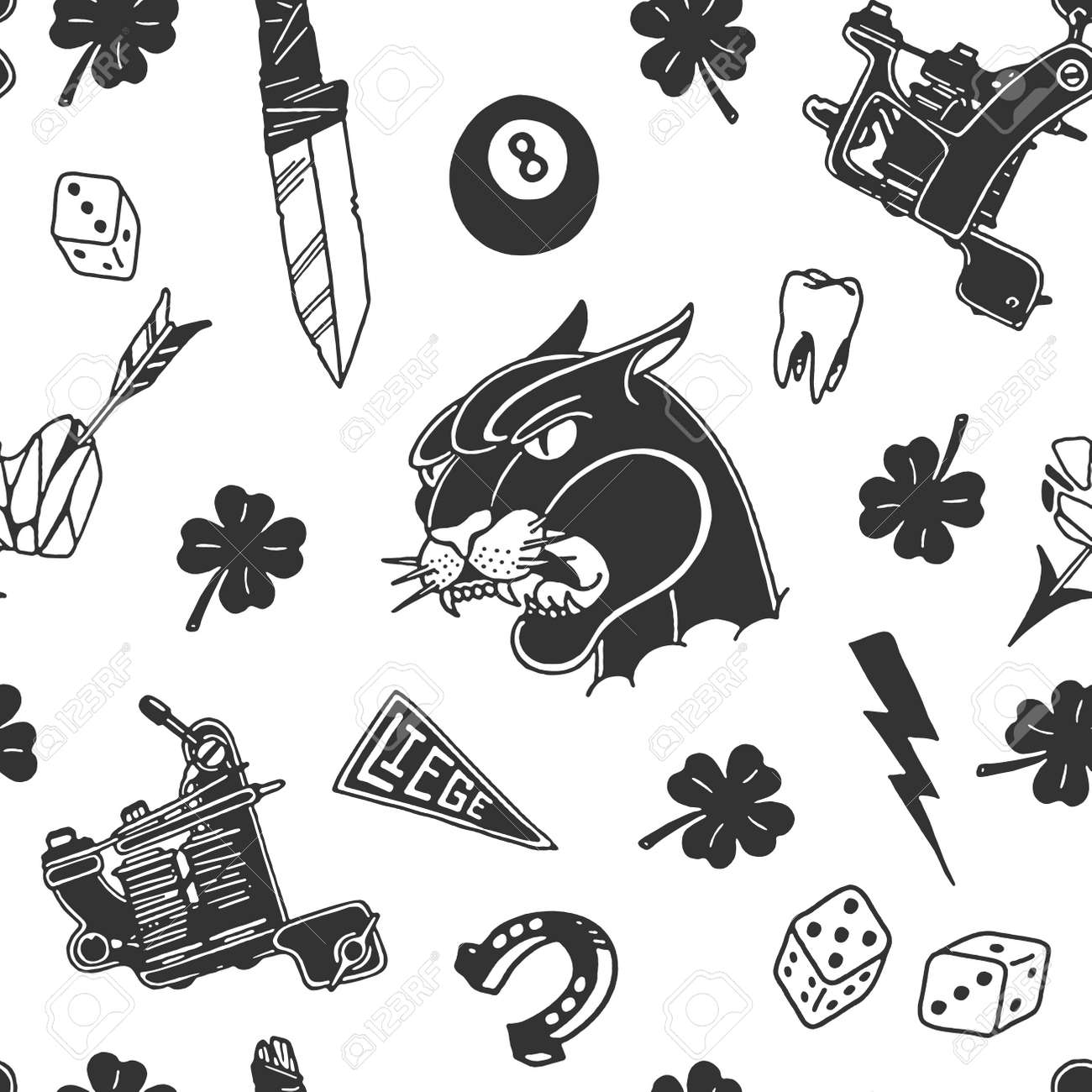 Traditional Tattoo Designs Pattern Design Illustration Royalty Free Cliparts Vectors And Stock Illustration Image 88611842 I will create your unique tattoo design 100% online get a high quality and unique tattoo design in polynesian style according your wishes to. traditional tattoo designs pattern design illustration