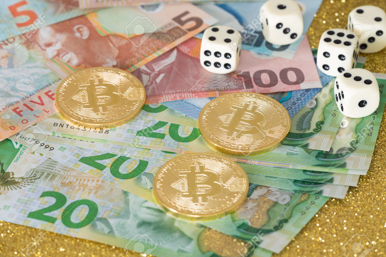 New Zealand dollars for bitcoin and dice for the game / business
