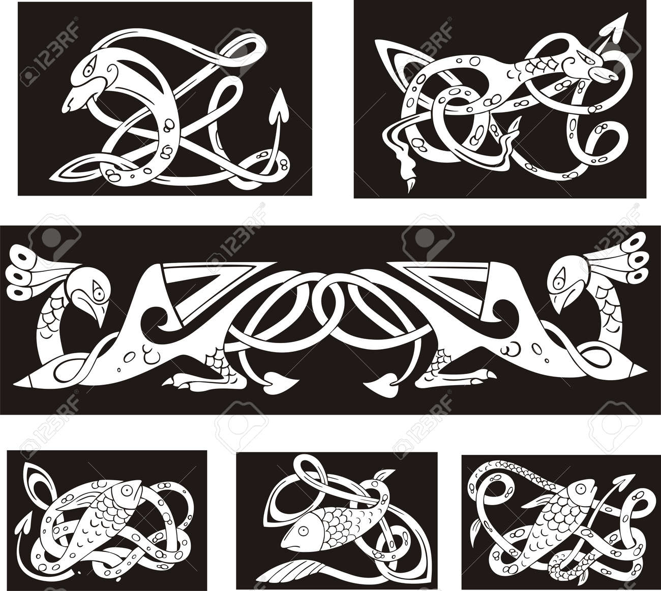 Celtic knot design elements patterns models and templates click 90 pronofoot35fo Image collections