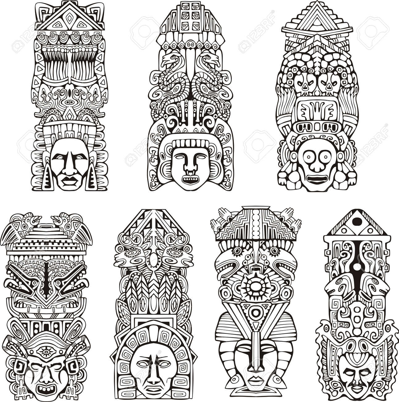 totem poles stock photos royalty free totem poles images and pictures