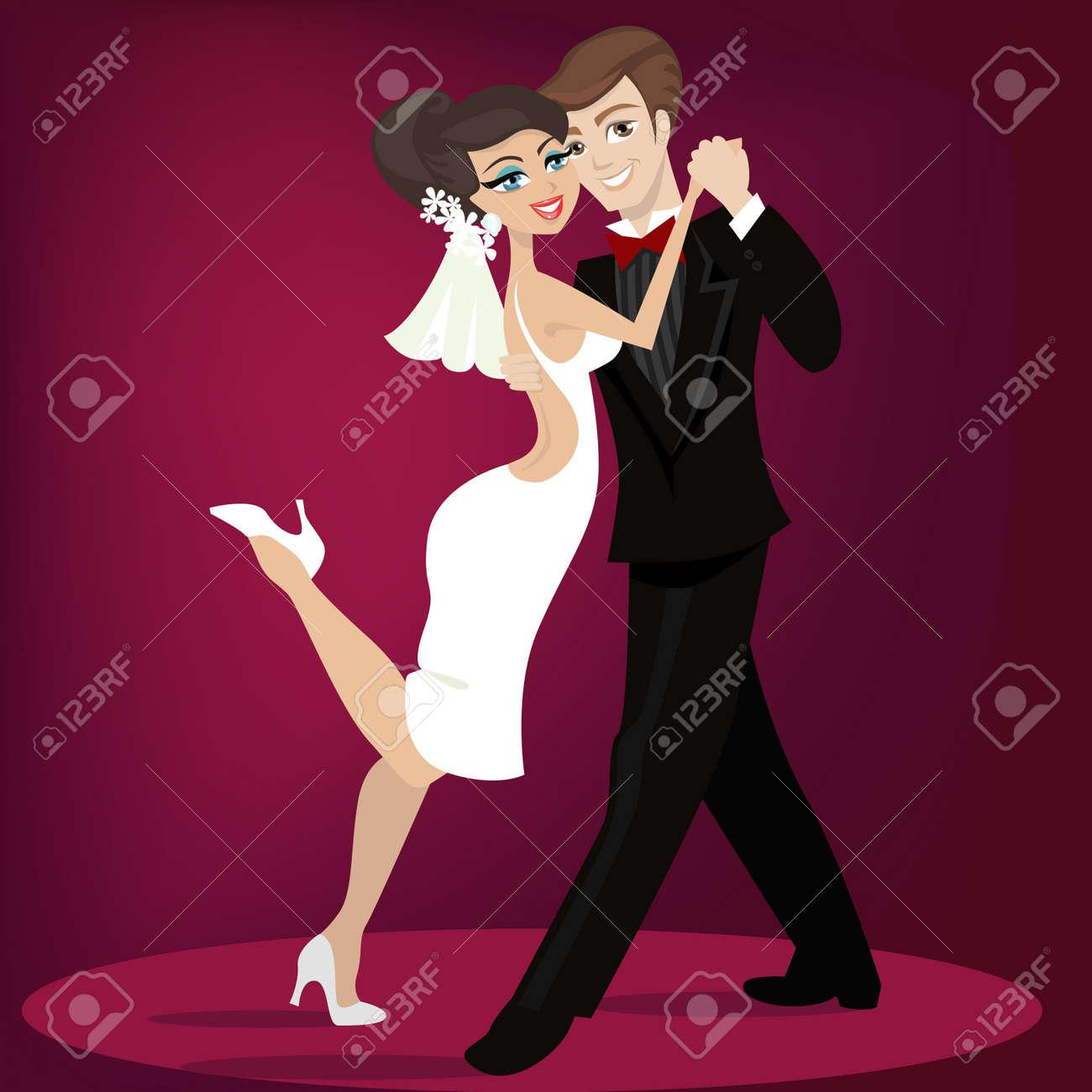 wedding illustration - 8478993