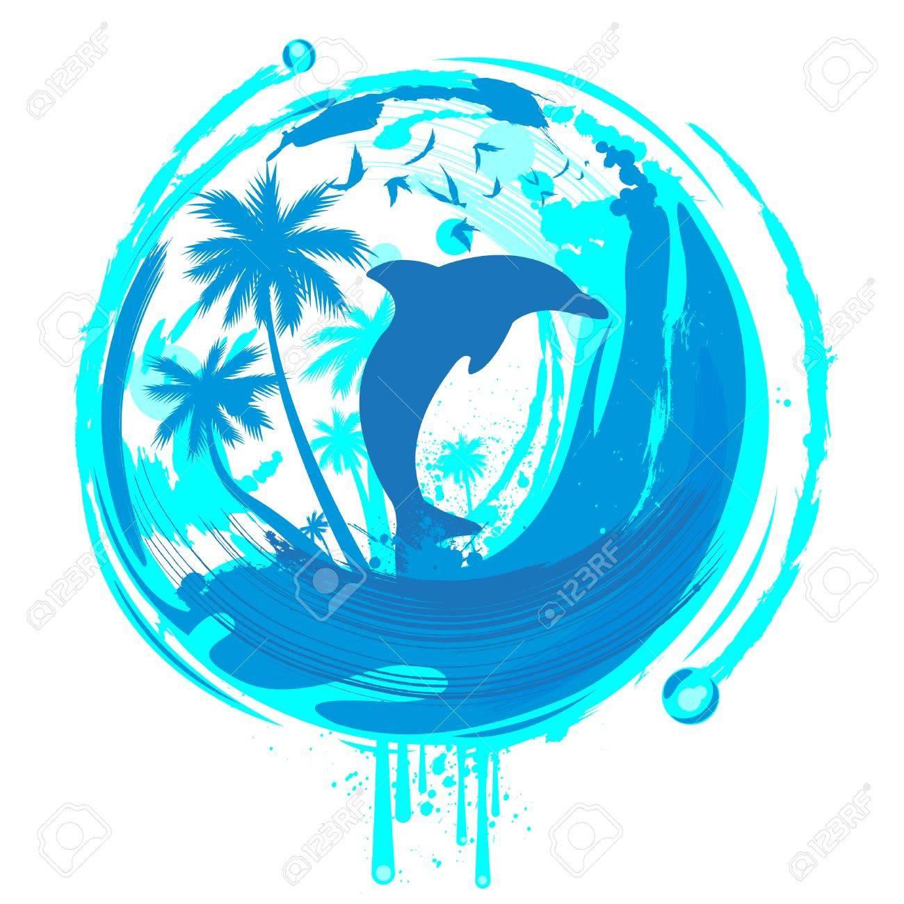 dolphin Stock Vector - 8623215