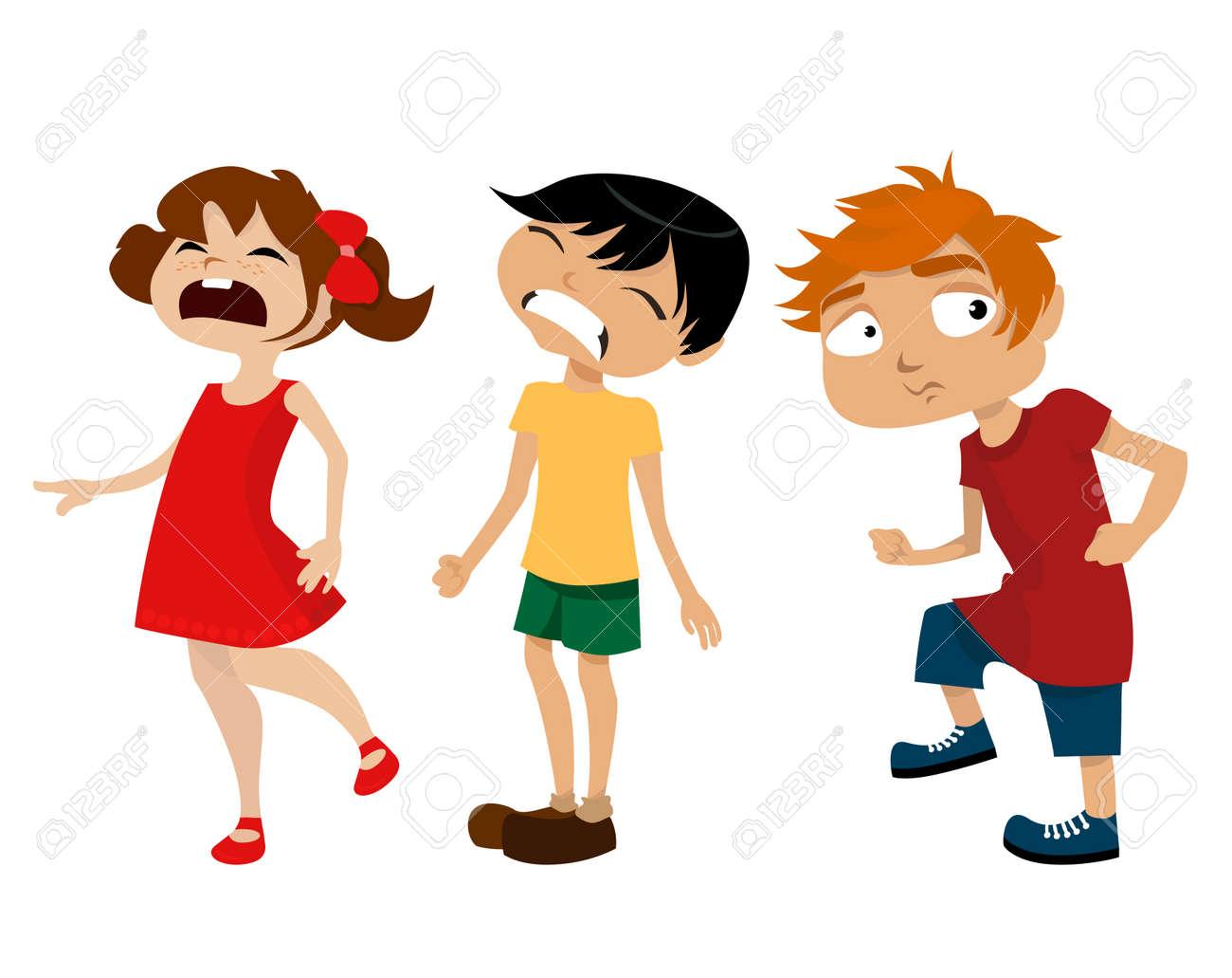 cartoon kids Stock Vector - 8817430