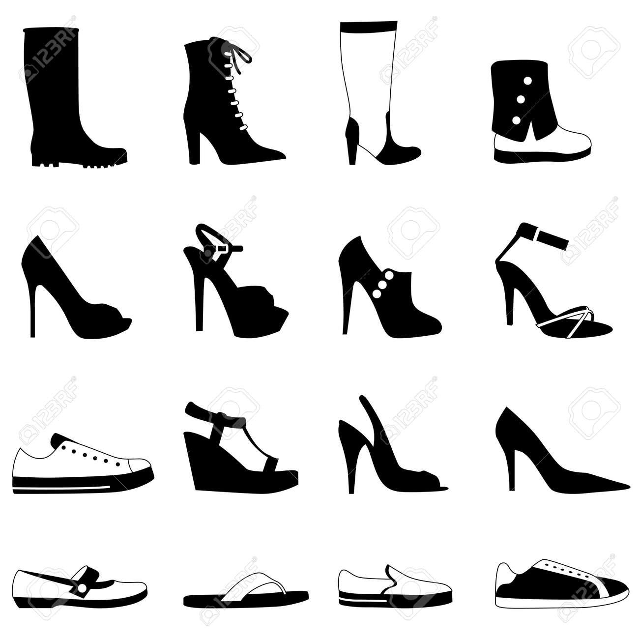 Boots fashion pic boots clip art - Rubber Boots Fashion Woman Shoes