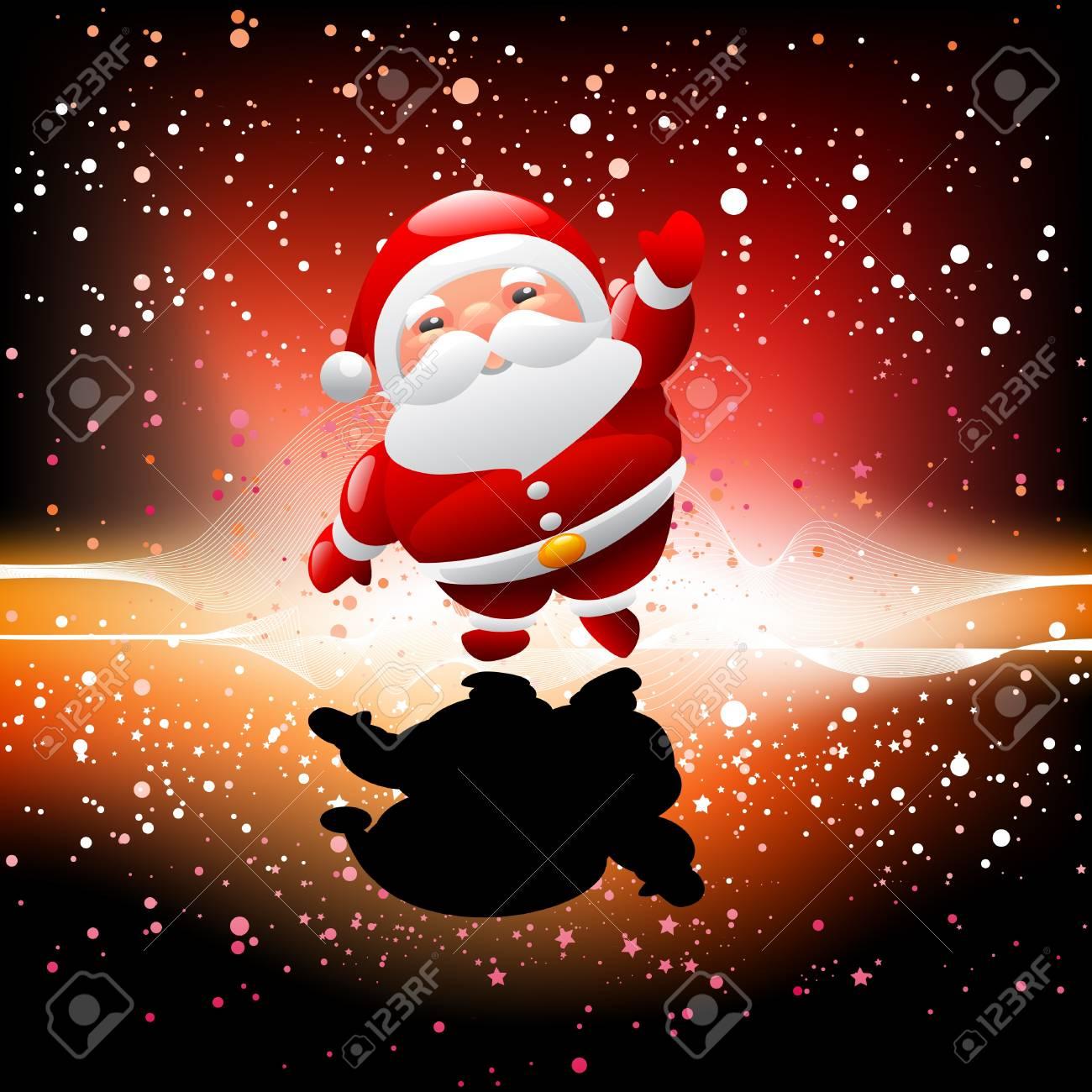 Weihnachten Santa Claus Lizenzfrei Nutzbare Vektorgrafiken, Clip ...