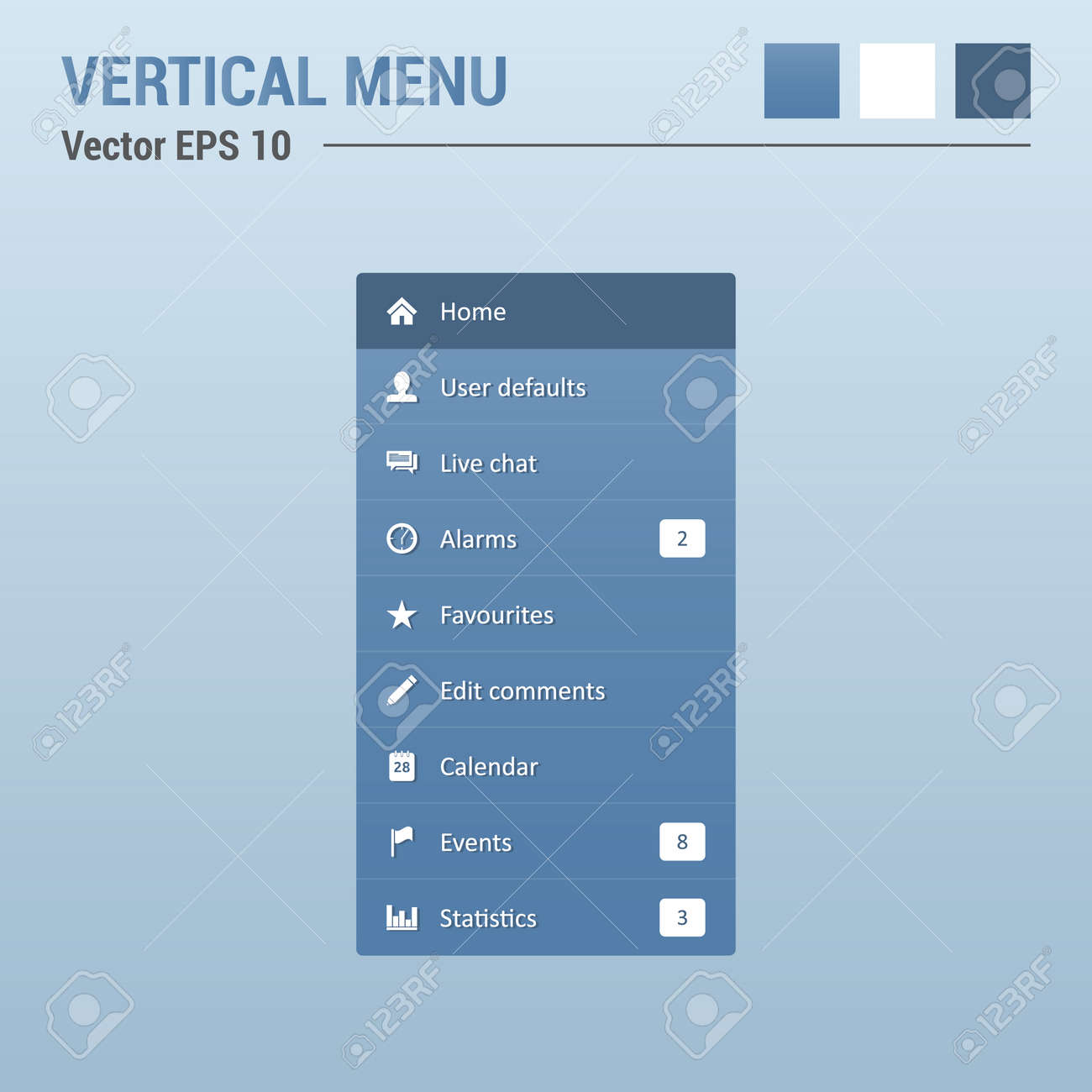 dress - Navigation web stylish menu video