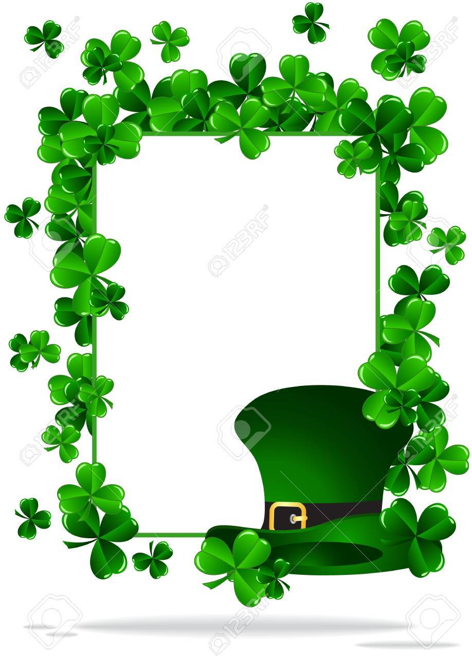 Greeting Card St Patrick Day vector illustration Stock Vector - 12478242