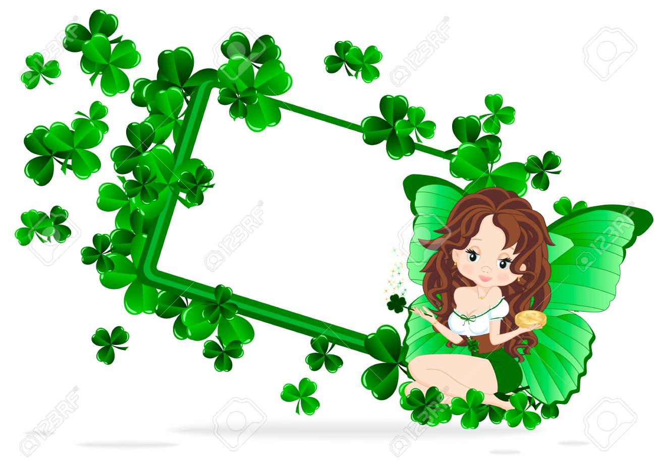 Greeting card for the holiday St  Patrick Stock Vector - 17752454