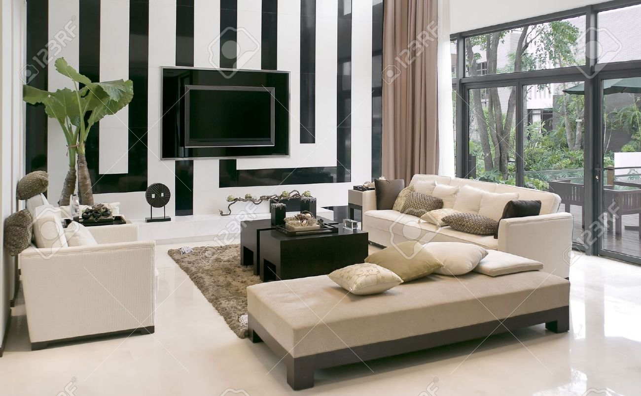 modern house furnishings