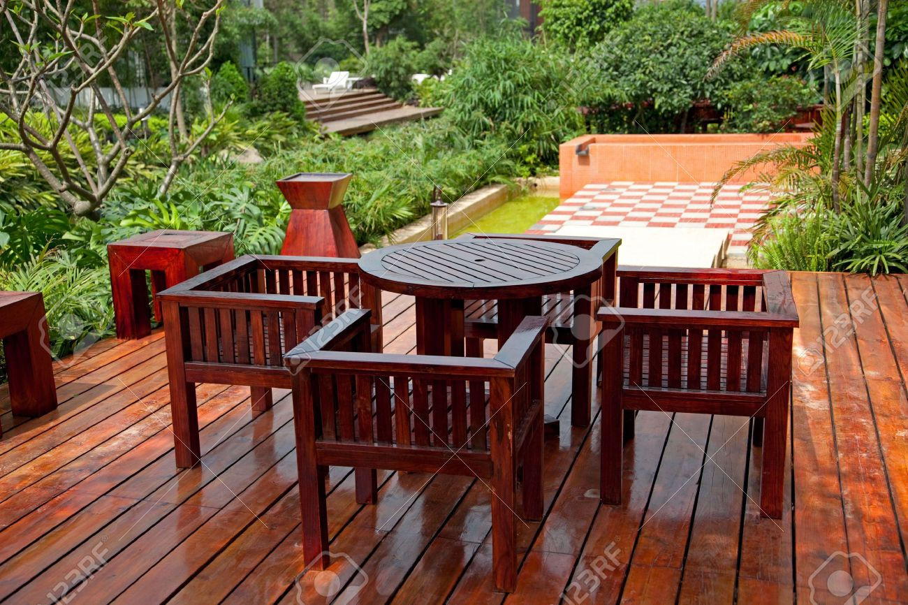 inspiration garden furniture stain