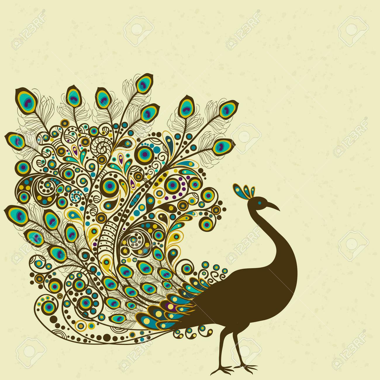 Peacock Stock Vector - 15995736