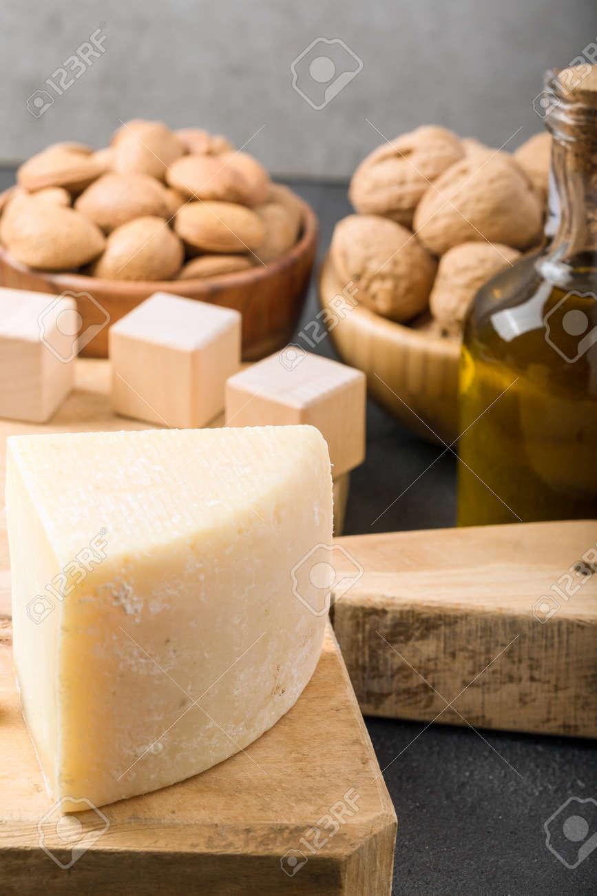 Different foods ingredients rich in vitamin D - 167193886