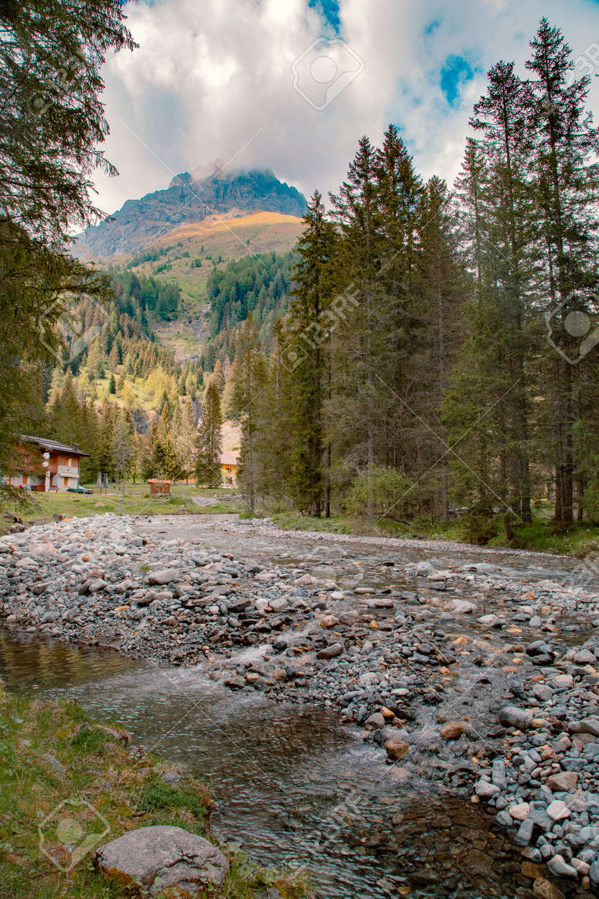 Nature landscape for adventure, hiking and recreational tourism - 167779947