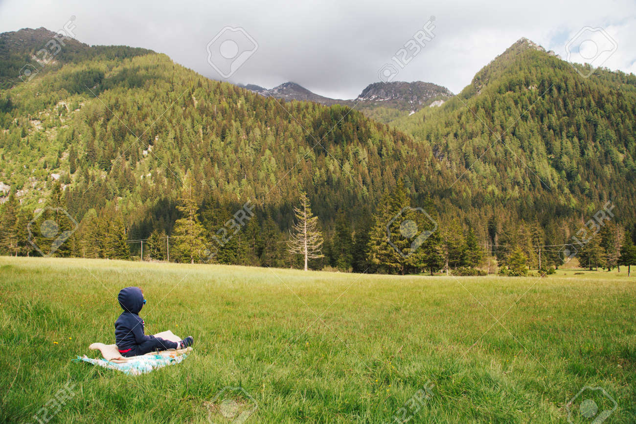 Beautiful Lombardy mountains in splendor of spring - 167779966