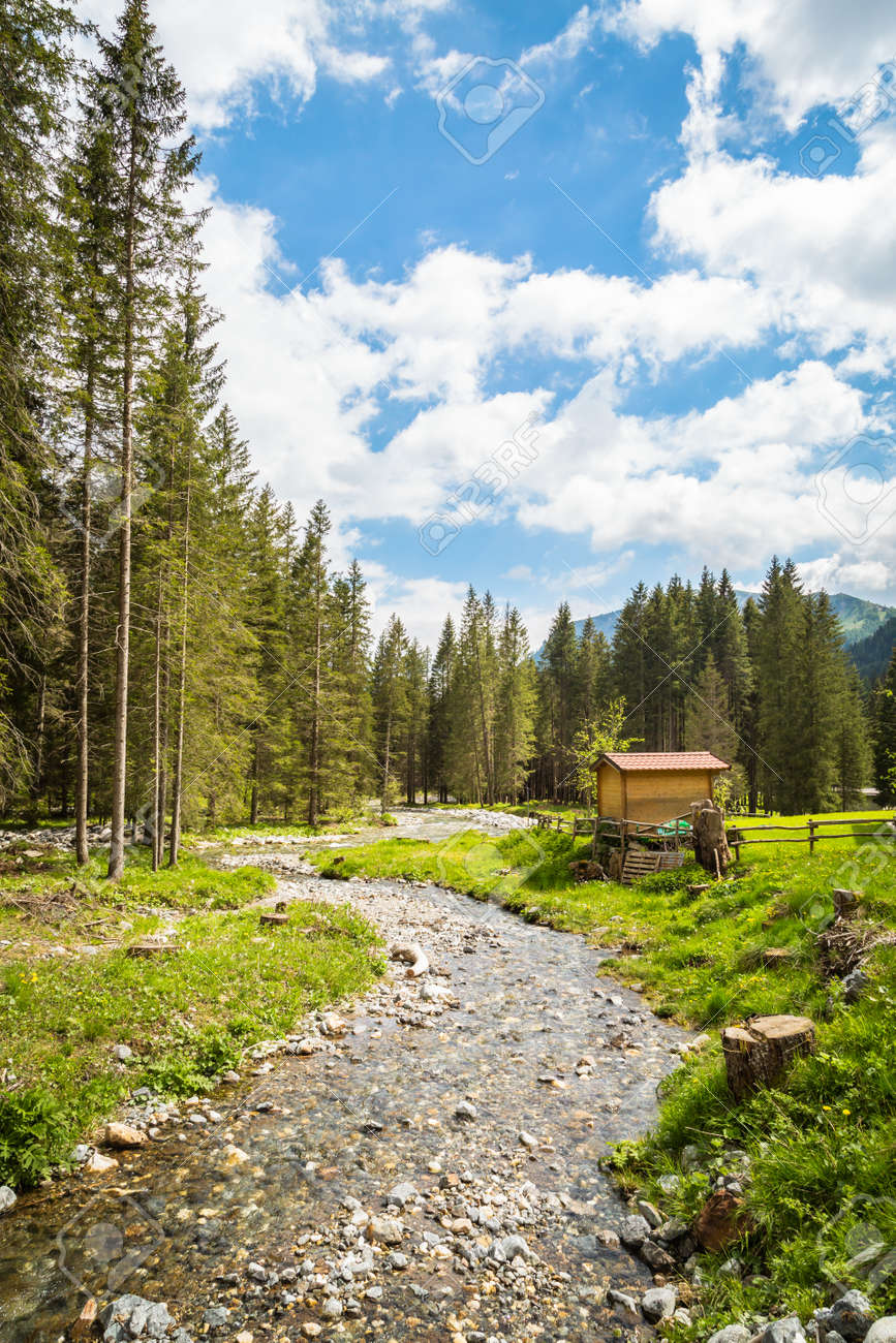 Nature landscape for adventure, hiking and recreational tourism - 167779994
