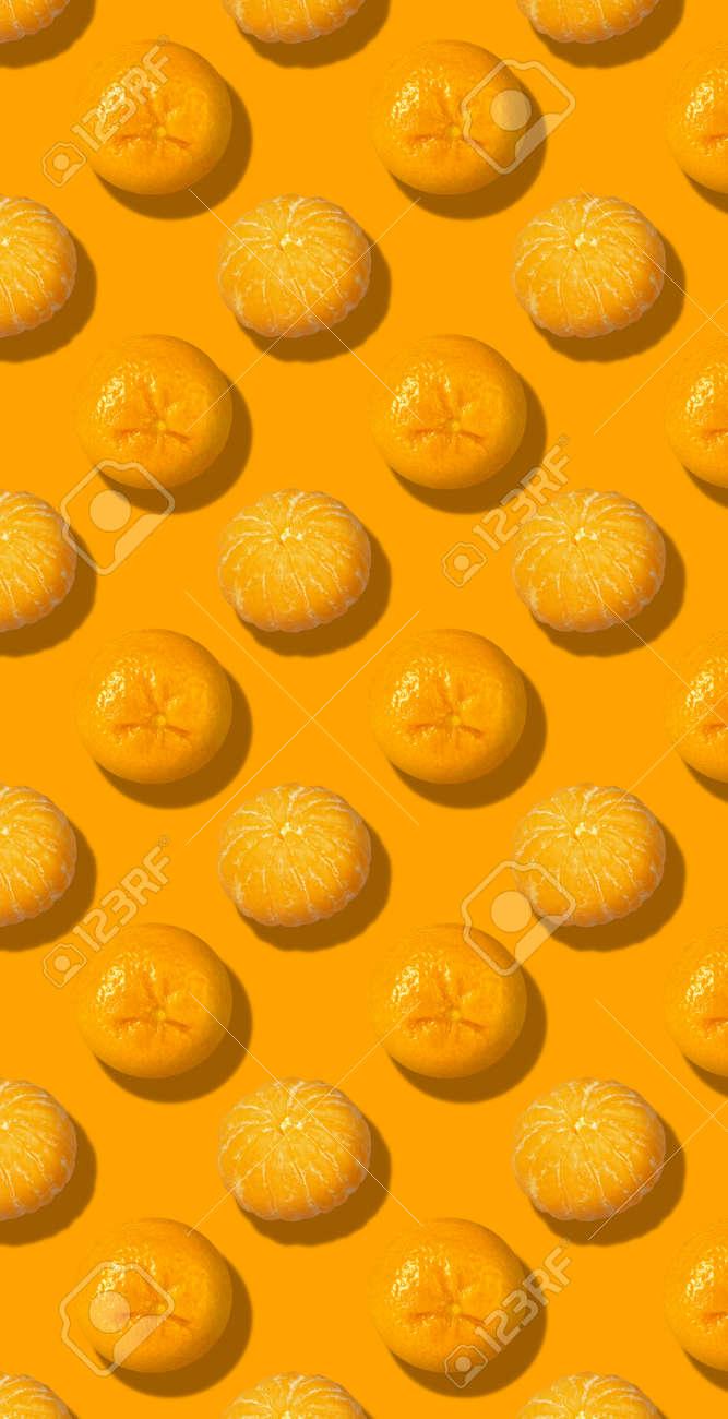 Whole fresh orange fruit pattern color background - 167780019