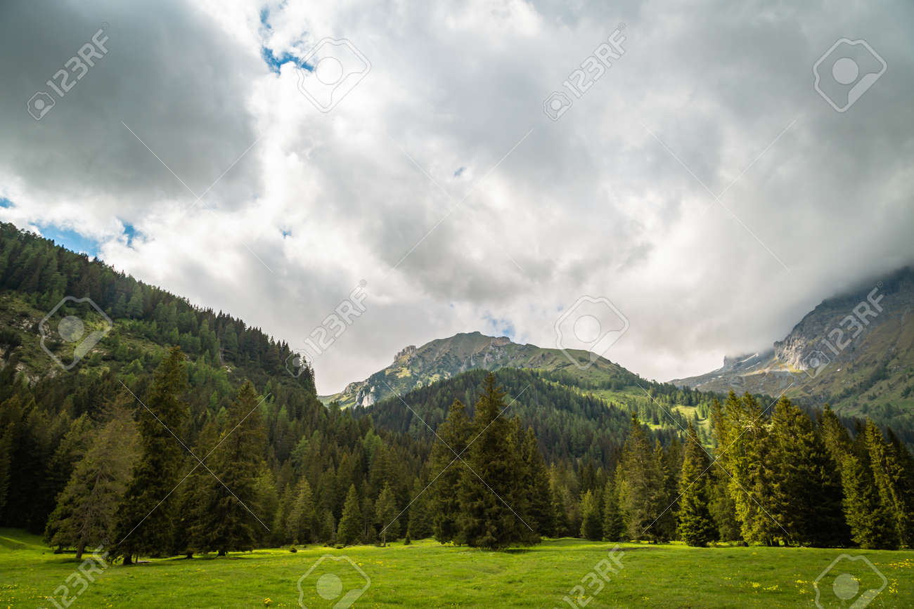 Nature landscape for adventure, hiking and recreational tourism - 171243931
