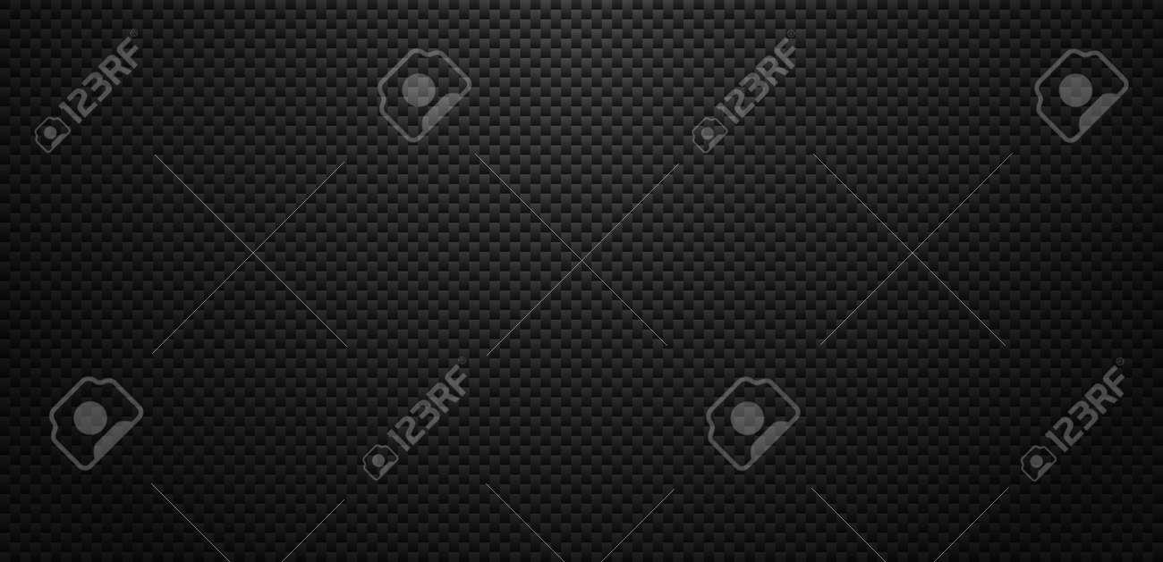 Vector carbon fiber texture. Dark background with lighting. - 146471828