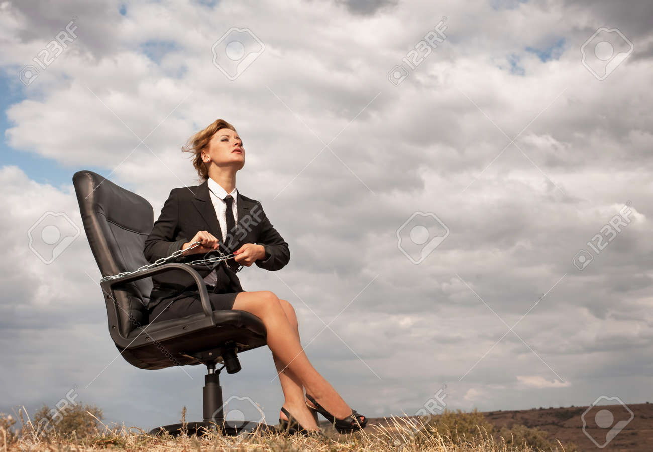 Out of office � liberation Stock Photo - 15795513