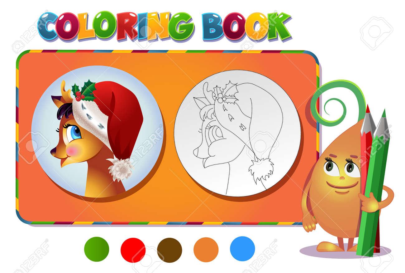 Contemporáneo Rudolph Y Clarice Para Colorear Molde - Ideas Para ...
