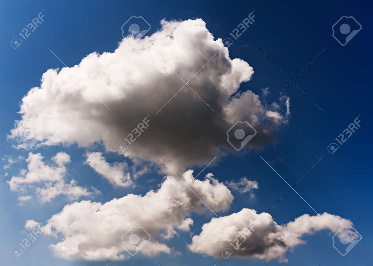 sun is closed by thunderclouds Stock Photo - 17989561
