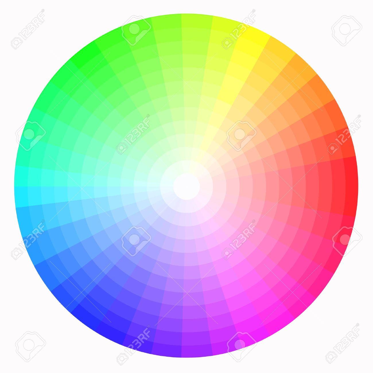 color wheel Stock Photo - 8246092