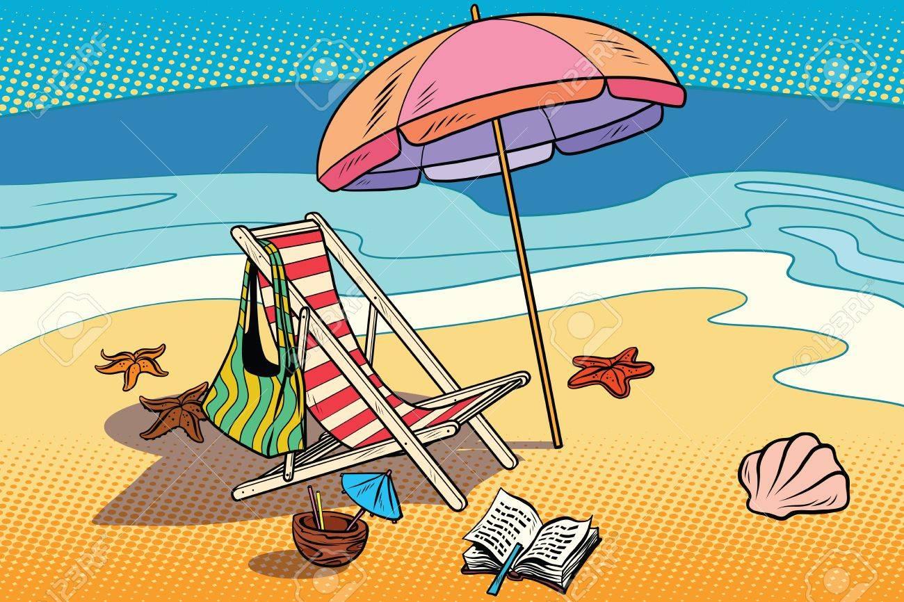 """Résultat de recherche d'images pour """"dessin plage parasol"""""""