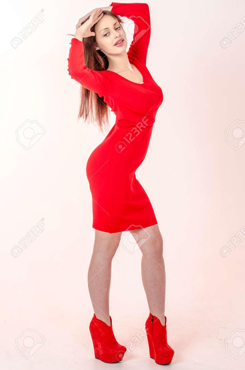 Fille avec des robe